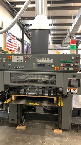 Komori Lithrone L-528-III CTR Offset de pliegos