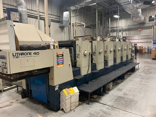 Komori Lithrone L640-III Sheet Fed