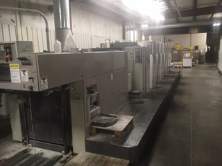 Man Roland 306P+L . 6/c 23x29 plus coater  Sheet Fed