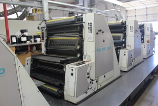 Man Roland R608 Sheet Fed