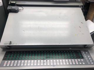 Ryobi 754 with LED UV  23x29 4/color  Sheet Fed