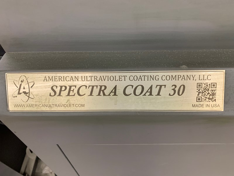 Show details for American Ultraviolet Coating Company AUV Spectra Coat 30