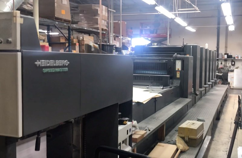 Show details for Heidelberg CD 102 6 LX