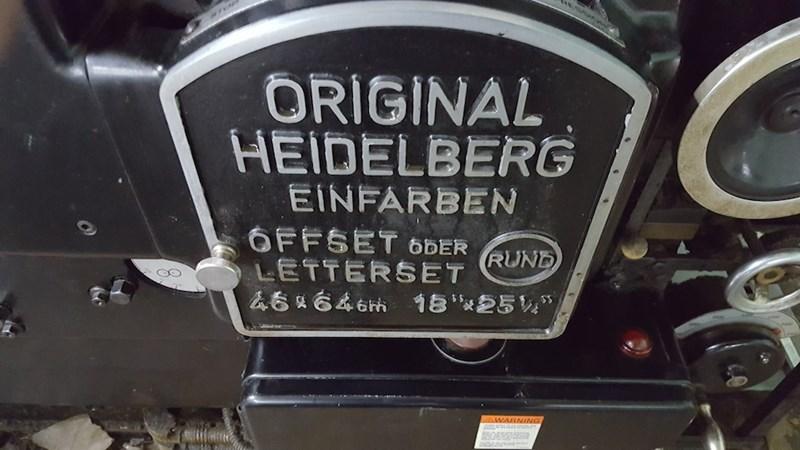 1960 Heidelberg KORD 64