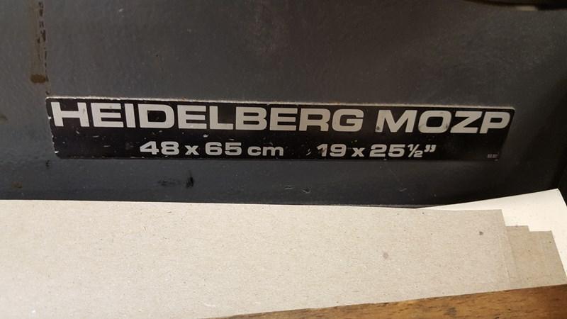 Heidelberg MOZP-S