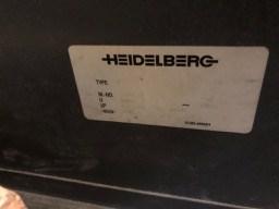 Heidelberg SM 102 6 P3+L