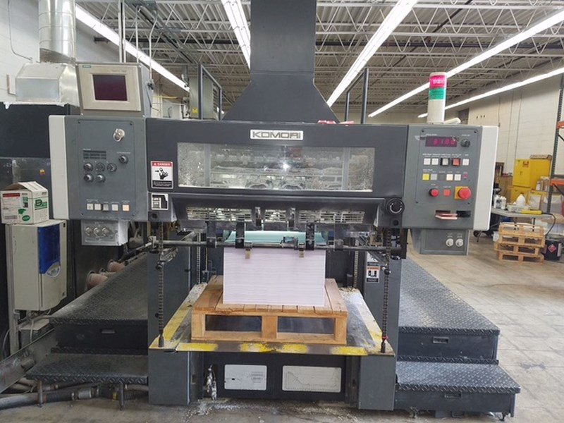Show details for Komori Lithrone NL628-P-III CTR