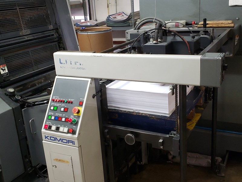 Komori Lithrone L-528-III CTR