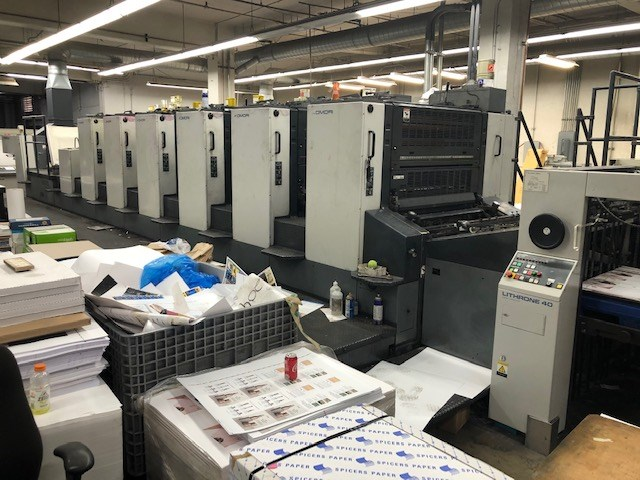 Show details for Komori Lithrone L640-III Plus Coater