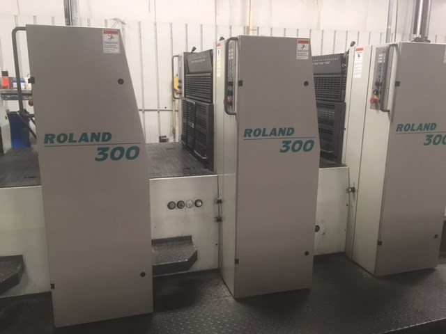 Man Roland 306P+L . 6/c 23x29 plus coater perfects 2/4
