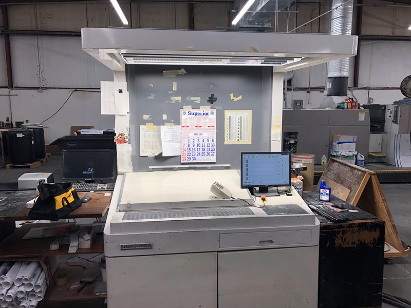 Shinohara 75 VI + LX . 23x29 6/c straight  low impressions.