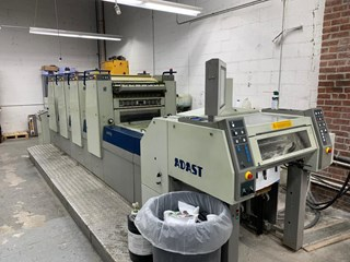 ADAST 747PL WITH COATER Machines offset à feuilles