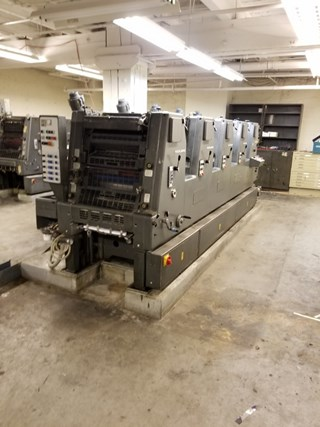 HEIDELBERG GTOF 52, FIVE COLOR, ALCOLOR DAMPENING, CPC Machines offset à feuilles