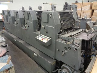 HEIDELBERG GTOFP 52, CPC Sheet Fed