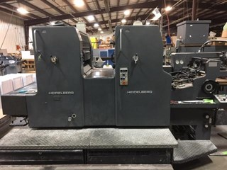 Heidelberg MOZP S Sheet Fed
