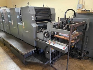1991 Heidelberg MOVPH  CPC 103, CP TRONICS, IR DRYER Sheet Fed