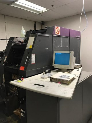 1997 HEIDELBERG QM DI 46-4  CLASSIC,  FOUR COLOR PRESS 单张纸胶印机