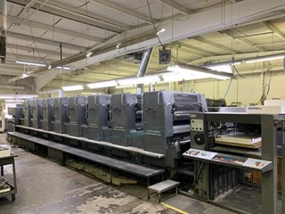 HEIDELBERG SM 102-8P H, YEAR: 1994, EIGHT COLOR PRESS, ALCOLOR DAMPENING Gebrauchte Bogenoffsetmaschinen