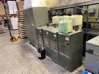 HEIDELBERG SM 102VP, FOUR COLOR, ALCOLOR VARIO DAMP, AUTO PLATE, CPC 1.04, CP TRONICS Machines offset à feuilles