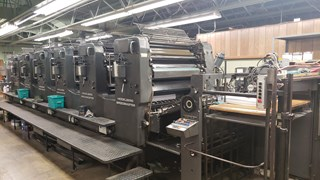 Heidelberg SM 102S WITH ALCOLOR Sheet Fed