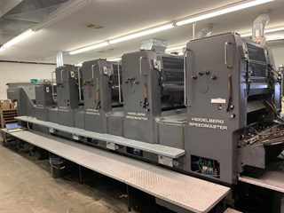 HEIDELBERG SM 72V L, TOWER COATER, YR 1987 Sheet Fed