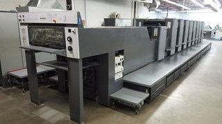 2000 HEIDELBERG SM 74-8P-LX, WITH   CP 2000,  EIGHT COLOR, ALCOLOR  Machines offset à feuilles