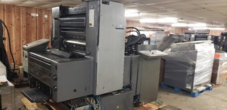 HEIDELBERG SM 74-1,  CP TRONICS CONSOLE,  ONE COLOR, ALCOLOR DAMP, AUTO PLATE Sheet Fed
