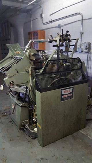 """KLUGE EHD 52,  MAX PAPER SIZE 14 X 22"""" (36X 57CM), FOIL STAMPING, DIECUT Buchdruck-Zylinder & Tiegel"""