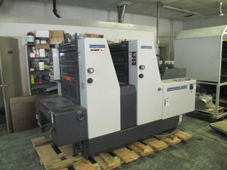 SHINOHARA 52 -2P, YR: 1999,  TWO COLOR PRESS Gebrauchte Bogenoffsetmaschinen