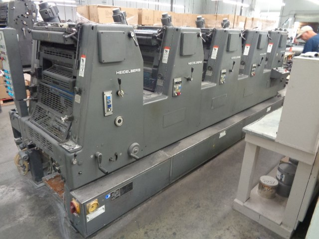 Show details for HEIDELBERG GTOFP 52, YEAR: 1987,  FIVE COLOR PRESS, ALCOLOR DAMPENING