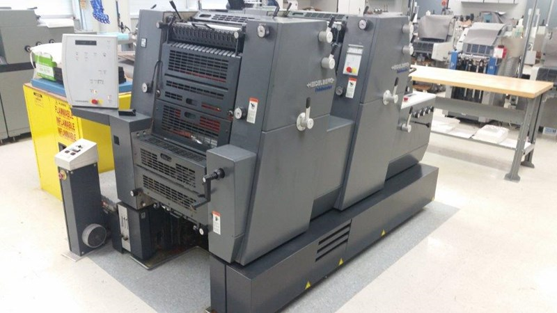Show details for Heidelberg Printmaster PM 52 2P