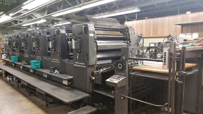 Show details for Heidelberg SM 102S WITH ALCOLOR