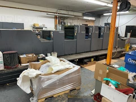 Show details for Heidelberg SM 74-4L YR:1995, CPC 1.04, CP TRONIC, STRAIGHT PRESS, TOWER COATER