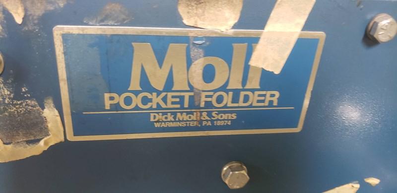 """DICK MOLL & SONS FOLFER GLUER 30 X28"""""""