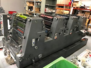 Heidelberg GTO 52 4 P3 Sheet Fed