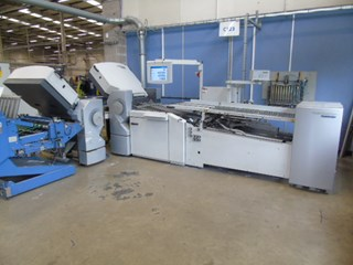 Heidelberg TH 56 4-4 Buckle Plate Folding Machine. Folding machines