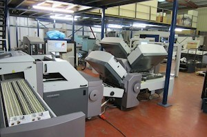 Heidelberg TH 82 4-6-2 All Buckle Folding Machine