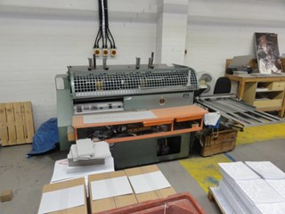 End Papering Machine Hard Cover Book production