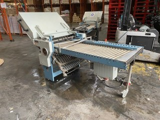 MBO MBO 4 Plate Buckle Plate Folding Unit B30 Second Unit. Folding Machines