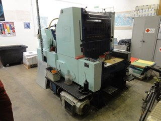 Sakurai 66 Single Colour Press With N&P Sheet Fed