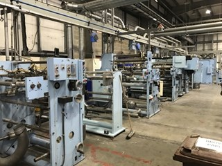 Scheffer Off Line Finishing System -  Sheeters & Inline Finishing