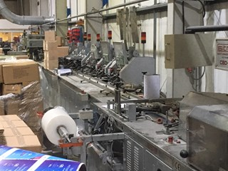 Sitma C80 750 Plastic Wrapping Line Mail room equipment