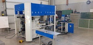 Casing Inn machine with pressing station Hard Cover Book production