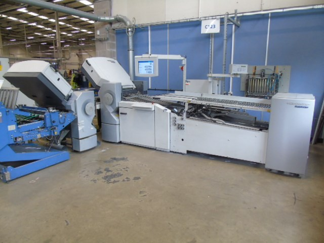 Show details for Heidelberg TH 56 4-4 Buckle Plate Folding Machine.