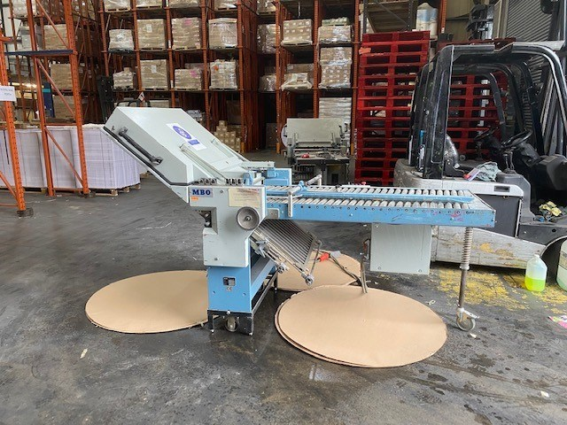 Show details for MBO MBO 4 Plate Buckle Plate Folding Unit B26 2nd Unit