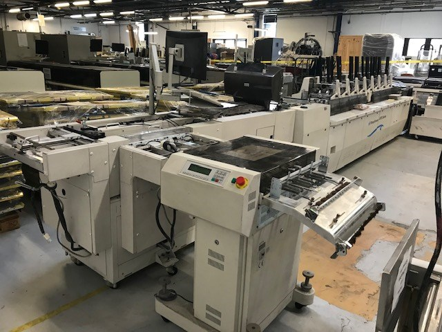 Show details for Pitney Bowes APS Mailing - Folding- Inserting Machine