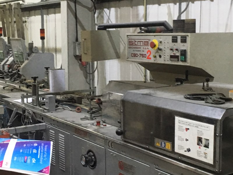 Sitma C80 750 Plastic Wrapping Line