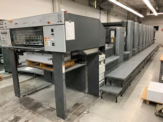 Heidelberg SM 102-8P+L Sheet Fed