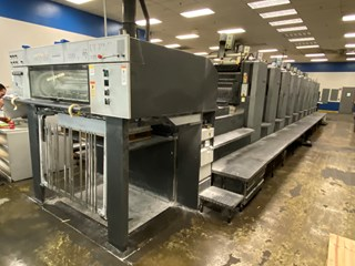 Heidelberg SM 102-10P Sheet Fed