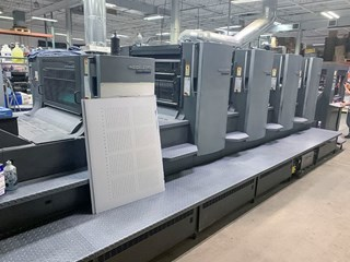 Heidelberg SM 102-4P+L Sheet Fed